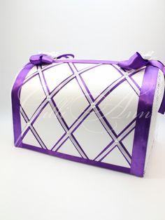 Свадебный сундучок для денег Gilliann Valencia BOX034 #weddingbox