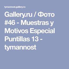 Gallery.ru / Фото #46 - Muestras y Motivos Especial Puntillas 13 - tymannost