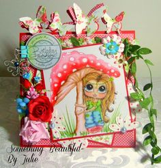Something Beautiful By Julie: Card for a child at US Besties Challenge