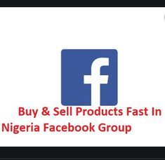 Buy & Sell Products Fast In Nigeria Facebook Group | How To Buy And Sell On Nigeria Facebook Group | TechSog Neiman Marcus Credit Card, Adidas Originals, Facebook Ads Manager, Good Advertisements, Facebook Features, Online Group, Asos Online, Latest Clothes, Prime Video