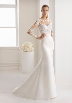 Aire Barcelona Wedding Dresses - Search our photo gallery for pictures of wedding dresses by Aire Barcelona. Find the perfect dress with recent Aire Barcelona photos. Aire Barcelona Wedding Dresses, Western Wedding Dresses, Stunning Wedding Dresses, Wedding Dress Styles, Dream Wedding Dresses, Designer Wedding Dresses, Beautiful Dresses, Wedding Poses, Wedding Ideas