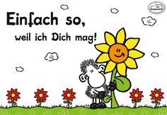 """Neu von sheepworld! Die farbenfrohe Serie """"Einfach so"""" von sheepworld versprüht garantiert gute Laune! Schnell shoppen - einfach so! http://sheepworld.de/shop/nach-Serien-Motive/Einfach-so/"""