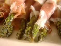 ***Prosciutto Wrapped Asparagus*** Roast asparagus, then wrap in a preservative-free prosciutto for a snack that will also impress as an appetizer.