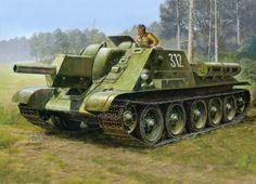 Su-85 durante el verano de 1943 (Frente Ruso) - Guerra Mundial II