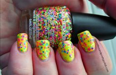 Sweet Tea and Pretty Polish: Nails of the Day:  LA Colors Craze