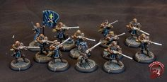 My WarmachineMerc - Galleries - Figurepainters.com Custom Painted Minitures. Warmachine, Hordes, 40k, Malifaux and any other miniture you can think of!