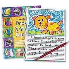 NIB Draw & Write Childrens Journal by Lakeshore Learning Kindergarten Journals, In Kindergarten, Teacher Supplies, School Supplies, Writing Activities, Preschool Activities, Writing Ideas, Sunday School Games, Drawing Journal