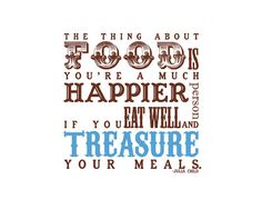 Julia Child Quote, maybe framed for my kitchen