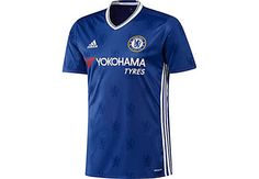 adidas Youth Chelsea Soccer Jersey (Home @ SoccerEvolution Soccer Store Adidas Kids, Adidas Men, Chelsea Fc 2016, Camisa Chelsea, Chelsea Soccer, Adidas Originals Leggings, Soccer Shop, Hoodie Pattern, Funny Sweaters