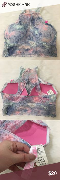 VS Pink Push Up Bralette Size XS Nwt  ✨Check out my Closet ;) ✨✨ All Sale are Final No Return, No Exchange PINK Victoria's Secret Intimates & Sleepwear