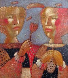 Alexander GERASIMOV, Sankt Petersburg-based artist, b. Riga 1955.