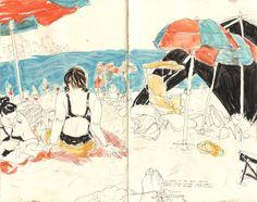 wonderful sketchbooks @ Francis Vallejo