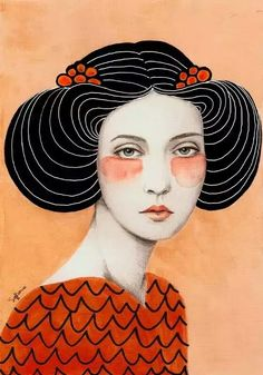 Portrait of a Lady - by Sofia Bonati
