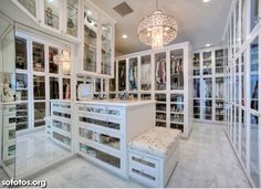 The best of luxury closet design in a selection curated by Boca do Lobo to inspire interior designers looking to finish their projects. Discover unique walk-in closet setups by the best furniture makers out there Walk In Closet Design, Closet Designs, Master Closet, Closet Bedroom, Closet Space, Master Bedroom, Huge Closet, Wardrobe Closet, Closet Doors