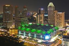 Suntec city mall, Singapore. Coolest mall in the world