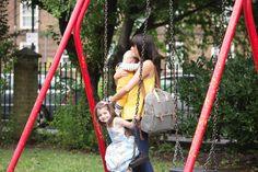 BabyMel - Robyn Stripes Diaperbag – Hello Little Page Girl Diaper Bag, Diaper Bag Backpack, Diaper Bags, Convertible Diaper Bag, Wipes Dispenser, Bottle Bag, Changing Pad, Navy Stripes, Cross Body