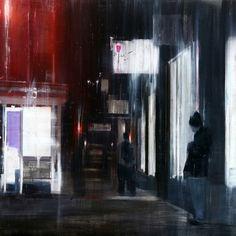 Brett Amory   Waiting (2012). #brettamory http://www.widewalls.ch/artist/brett-amory/