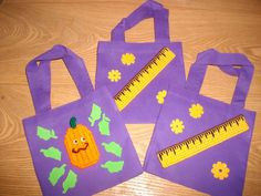 Mini Purple Totes by cecrafts on Etsy, $2.00