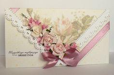 Card: Cream Rose Wedding - Clutches