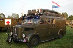 Magirus Deutz S 3500 Ex Dutch army truck from 1952. (Consider me drooling)