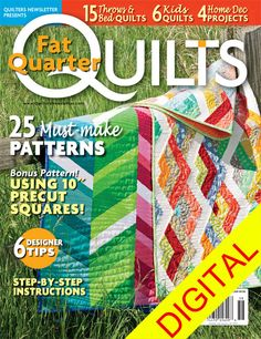 Best Fat Quarter Quilts 2014