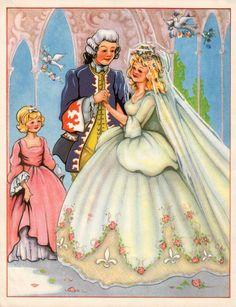 1940s cinderella and prince charming