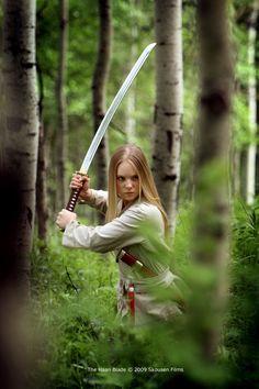"""Danielle Chuchran, """"The Haan Blade"""" #sword"""