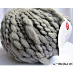 Grigio Fantasia Pure New Wool Bulky Yarn