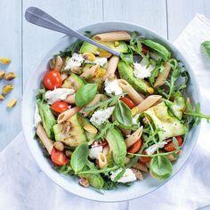 Salad Recipes, Vegan Recipes, Good Food, Yummy Food, Pasta Salad, Salads, Food And Drink, Lunch, Meals