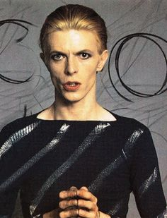 featherwurm:  David Bowie in a photoshoot during the Isolar tour.