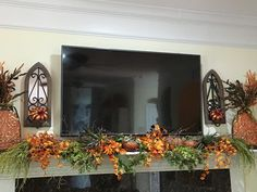 The Tuscan Home: My Autumn Mantle And Video