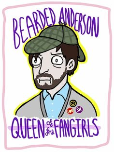 bananagator: #with one teaser trailer Anderson has become the Bartolomeo of this series. | The Insane Sherlock Fandom