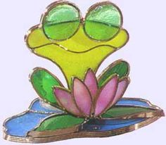 stained glass frogs - Google Search