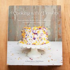 """What a nice surprise! I expected salads with nasturtiums and candied rose petals — pretty, light-hearted recipes. I did not expect to be plunged deep into a world of vibrant color, flavors running from honey-sweet to spicy-peppery, and recipe ideas so exciting and perfect that I felt the immediate need to """"Make. Now.""""  Some of the Recipes : Calendula Orange Cake, Gouda Cheddar Daylily Biscuits, Elderflower Marshmallows, Herb Flower Pesto, Lilac Sorbet, Spring Tulip and Pea Shoot Salad."""