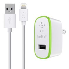 Belkin BOOST↑UP™ iPad and iPhone 5 Charger with ChargeSync Cable (12 watt/2.4 Amp) - fast charging $40