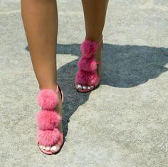 High-heeled Schuhe Europa und Amerika Fruuml;hling und Sommer wies hohle Mode High Heel Sexy Damenschuhe ( Farbe