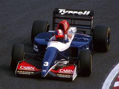 Ukyo Katayama - Tyrrell Yamaha V10 - Japanese GP Suzuka 1993 ...