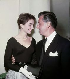 Jean Simmons and Stewart Granger, married 1950-1960.