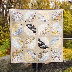 Turning Leaves Quilt - free downloadable PDF