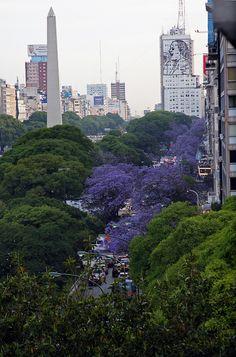 Buenos Aires se Viste de Azul Art Nouveau Arquitectura, Cities, River Park, Argentina Travel, Wide World, Parking Design, Beautiful Places To Visit, Homeland, South America