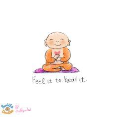 Molly Hahn's Buddha Doodle