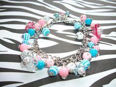 Bubble Gum Bracelet by BeesKnees7 on Etsy, $25.00