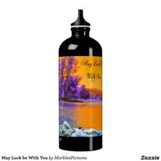 May Luck be With You SIGG Traveler 1.0L Water Bottle #water #bottle #scenery #luck