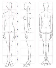 figurines de moda patrones para ilustración de moda - Buscar con Google