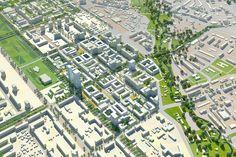 Visuals - Perm Strategic Masterplan - Projects - KCAP