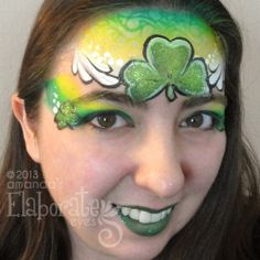 Amanda's Elaborate Eyes || shamrock crown