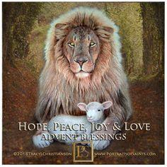 Catholic Gifts, Catholic Art, Roman Catholic, Lion And Lamb, Christmas Greeting Cards, Art Google, Life Is Beautiful, Saints, Isaiah 11