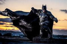 Arkham Origins Batsuit by Julian Checkley