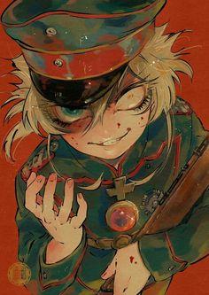 Devil of Rhine Fanarts Anime, Anime Characters, Manga Anime, Tanya Degurechaff, Guerra Anime, News Anime, Tanya The Evil, Evil Anime, Anime Military