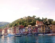 Portofino, Italy- colorful homes and gorgeous water, must visit!